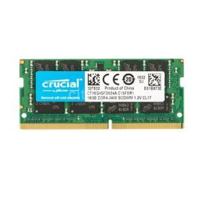 RAM Laptop DDR4 Crucial 16GB Bus 2400
