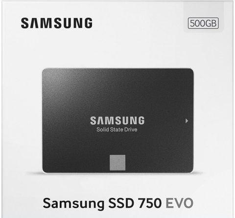 SSD Samsung 750 EVO 500GB