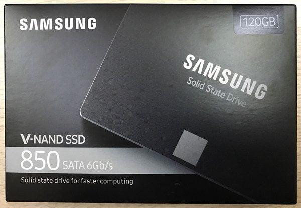 SSD Samsung 850 evo 120gb 2.5 inch sata iii