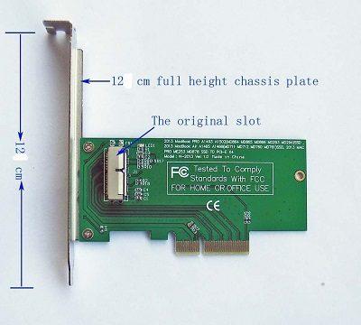 Adapter Chuyển Đổi SSD PCIe X4 Macbook Air