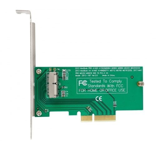 Adapter Chuyển Đổi SSD Macbook 2013 - 2015 To PCIe X4
