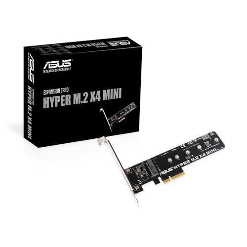Adapter Mini Hyper SSD M2 NVMe To PCIe 3.0 X4