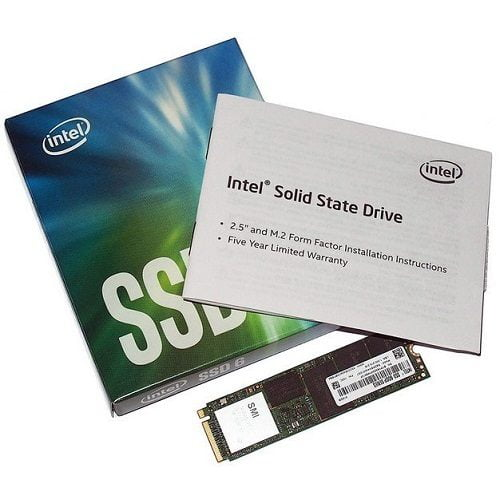 SSD Intel 600p 256GB M2 2280 NVMe