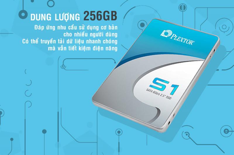 Ổ Cứng SSD Plextor S1C 256GB 2.5 inch SATA iii Chính Hãng