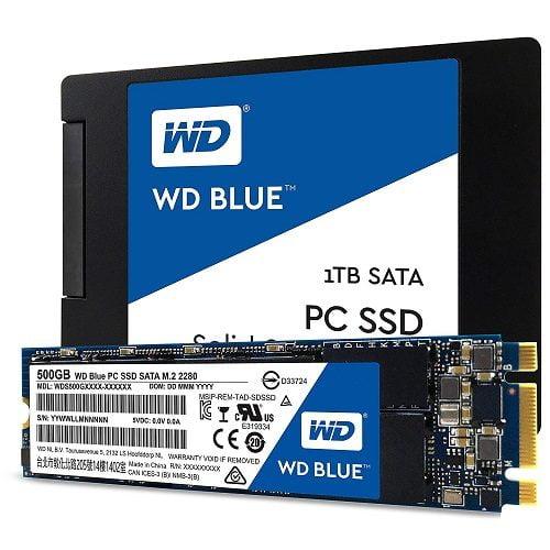 Ổ Cứng SSD WD Blue 1TB Chính Hãng