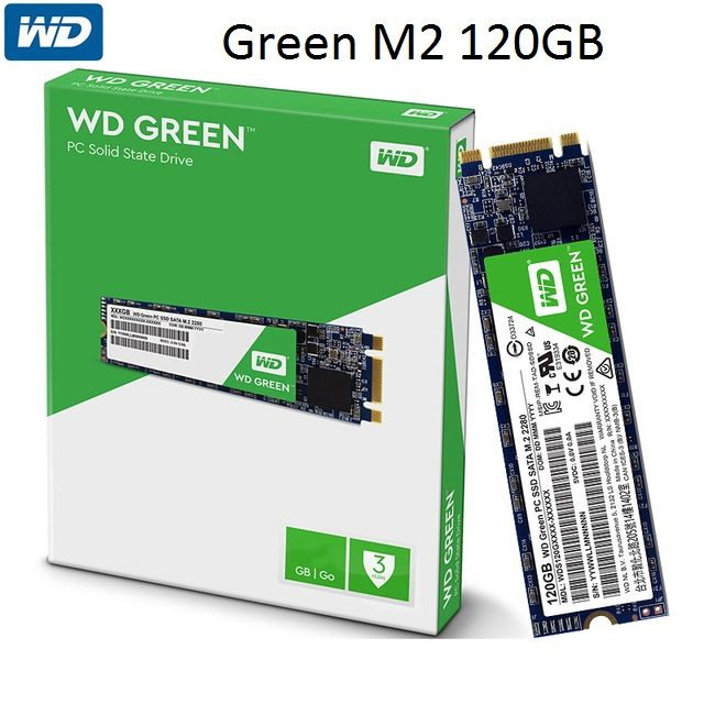 Ổ Cứng SSD WD Green 120GB M2 2280 NGFF
