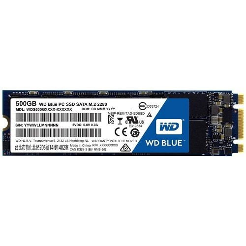 Ổ Cứng SSD WD Blue 500GB M2 2280