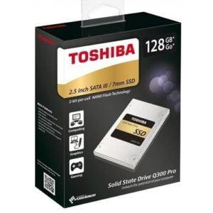 Ổ SSD Toshiba Q300 Pro 128GB 2.5 inch sata iii HDTS412XZSTA
