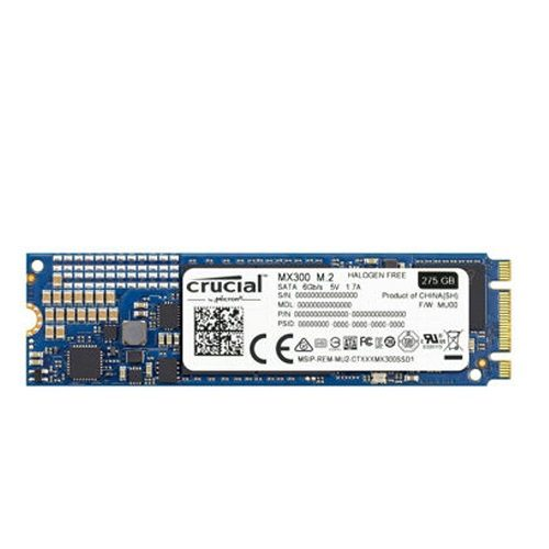SSD Crucial MX300 275GB M2 2280 CT275MX300SSD4