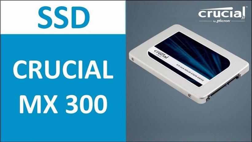 SSD Crucial MX300 525gb SATA iii