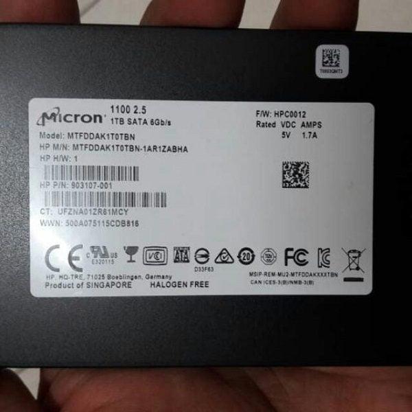 Ổ cứng SSD Micron 1100 1TB 2.5 Inch sata iii