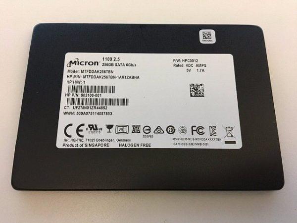 Ổ cứng SSD Micron 1100 256GB 2.5 inch SATA iii