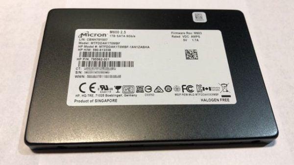Ổ cứng SSD Micron M600 1TB 2.5 inch sata iii