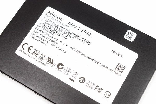 Ổ cứng SSD Micron M600 512gb 2.5 inch SATA iii