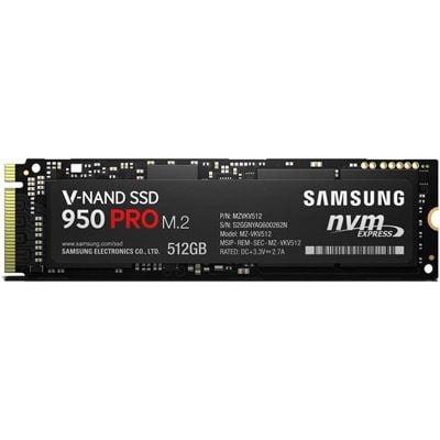 SSD Samsung 950 Pro 512GB M.2 2280 PCIe NVMe