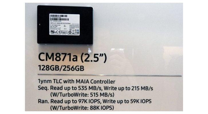 SSD Samsung CM871A 256gb 2.5