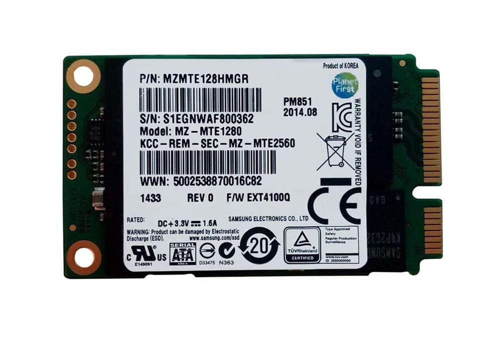 SSD Samsung PM851 128gb mSATA