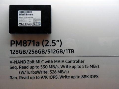 Ổ Cứng SSD Samsung PM871A 256GB 2.5 inch sata 3