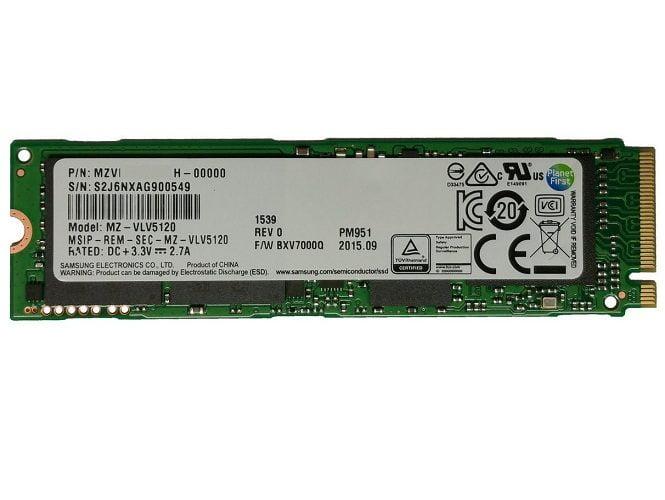 Ổ Cứng SSD Samsung PM951 512GB M2 2280 NVMe