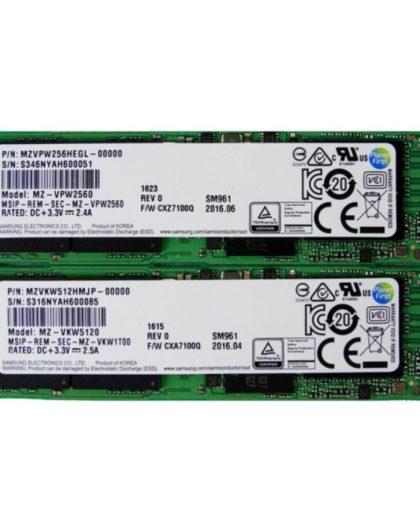 Ổ Cứng SSD Samsung PM961 M.2 PCIe NVMe 256gb