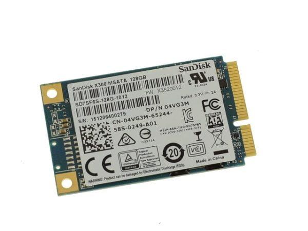Thiết kế của SSD Sandisk X300 128gb mSATA