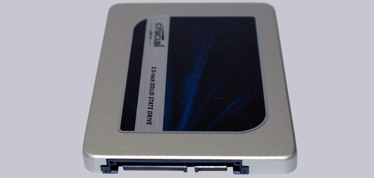 Thiết kế đẹp mắt của ổ cứng SSD Crucial MX300 sata iii 2.5 inch 2TB