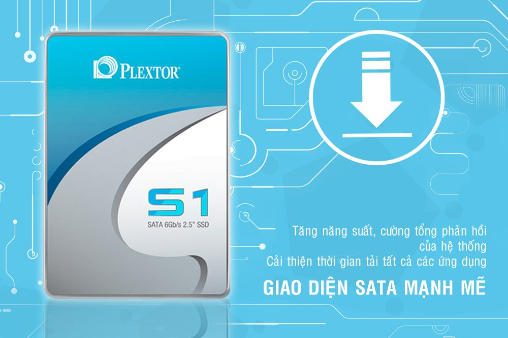 Ổ Cứng SSD Plextor S1C 128GB 2.5 inch