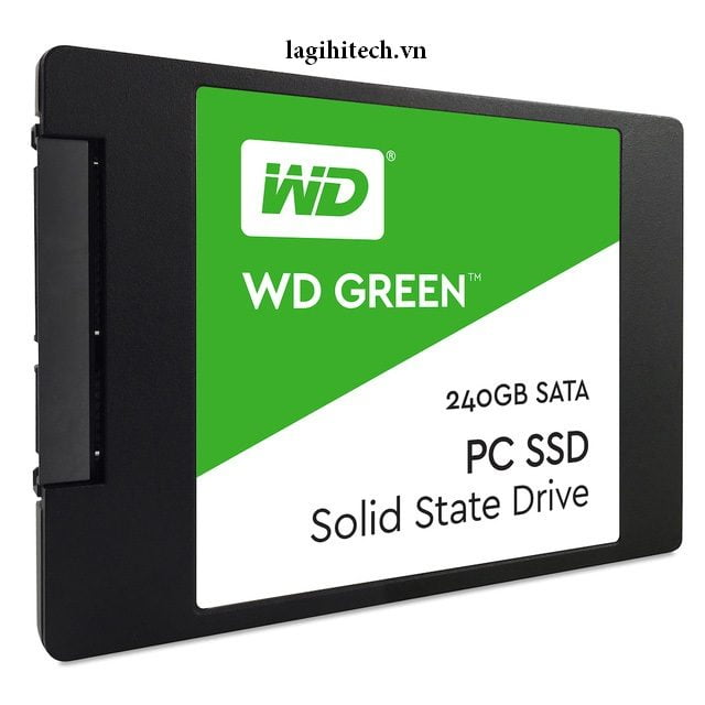 Kết quả hình ảnh cho SSD 120G WD Green
