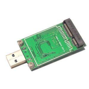 Adapter Chuyển Đổi SSD mSATA To USB 3.0 Liền Khối