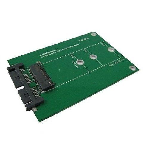 Adapter Chuyển Đổi SSD M2 SATA ( NGFF ) To Micro SATA ( 1.8 inch )