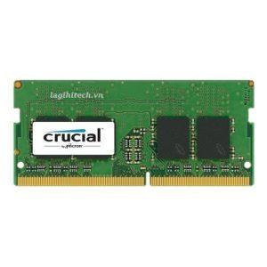 Bộ Nhớ RAM Laptop DDR3L Crucial 4GB Bus 1867 Chính Hãng, Giá Tốt