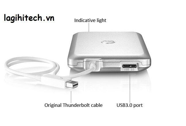 SSD Di Động Thunderbolt 1TB hinh anh 2