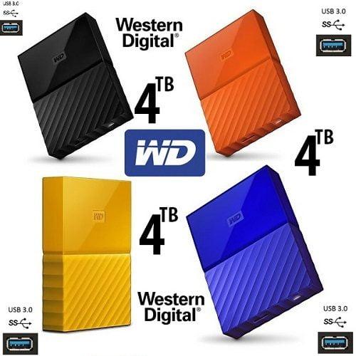 Ổ Cứng Di Động WD My Passport 4TB Portable