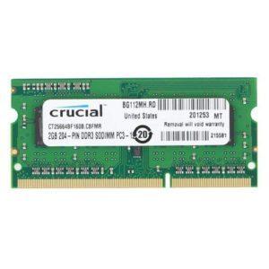 RAM Laptop DDR3L Crucial 2gb Bus 1600