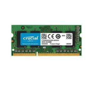 RAM Laptop DDR3L Crucial 4GB Bus 1600 SODIMM CT51264BF160B Chính Hãng