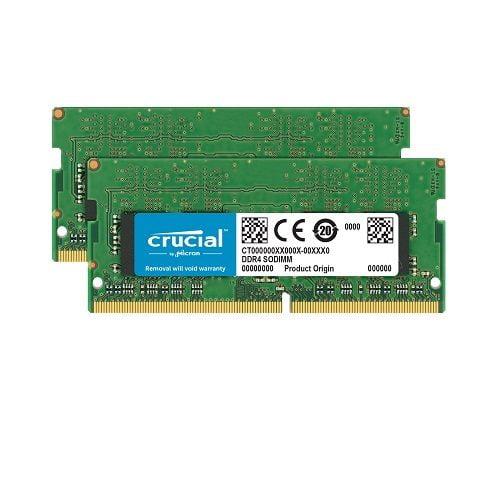 RAM Laptop DDR4 Crucial 32GB Kit 16GBx2 Bus 2400 Chính Hãng