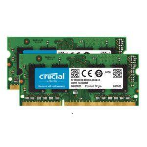 RAM Laptop DDR4 Crucial 32GB Kit 16GBx2 Bus 2133 CT2K16G4SFD8213