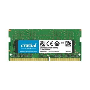 RAM Laptop DDR4 Crucial 4GB Bus 2133 SODIMM CT4G4TFD8213