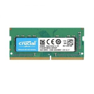 RAM Laptop DDR4 Crucial 4GB Bus 2400