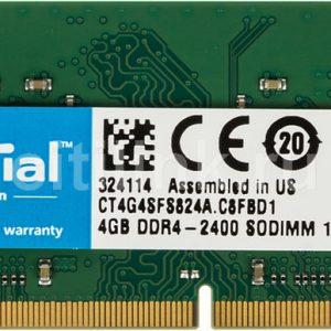 Ram Laptop Crucial DDR4 4GB Bus 2400