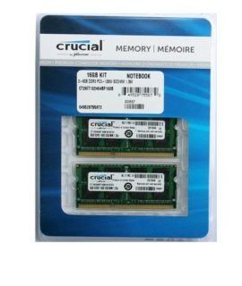 Ram Laptop DDR3L Crucial 16GB Kit 8GBx2 Bus 1867