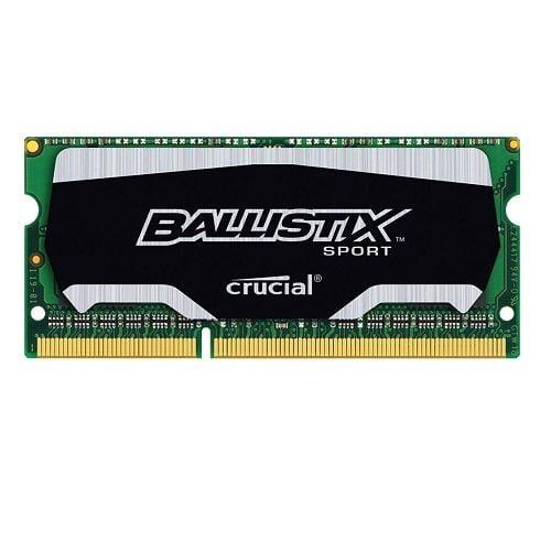 Ram laptop DDR3 Crucial Ballistix Sport 8GB Bus 1600