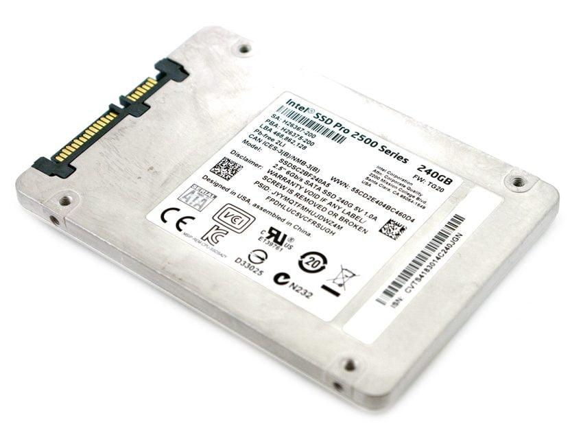 Ổ Cứng SSD Intel Pro 2500 240GB 2.5 inch SATA iii