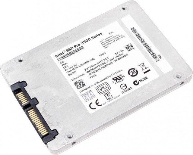 Ổ Cứng SSD Intel Pro 2500 480GB 2.5 inch