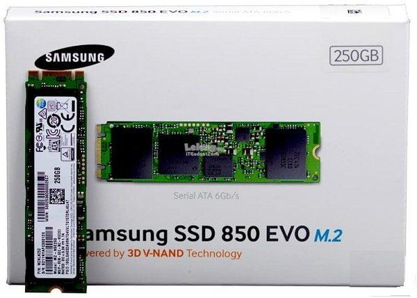 SSD Samsung 850 evo 250gb M2 2280