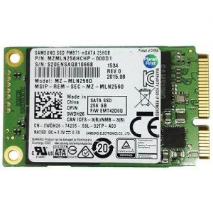 SSD Samsung PM871 256GB mSATA MZMLN256HCHP