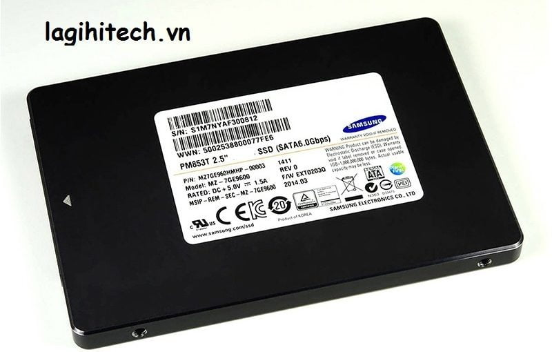 SSD Enterprise Samsung Pm853T 480gb
