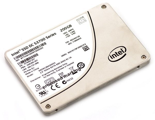 Ổ Cứng SSD Enterprise Intel DC S3700 200GB SSDSC2BA200G301
