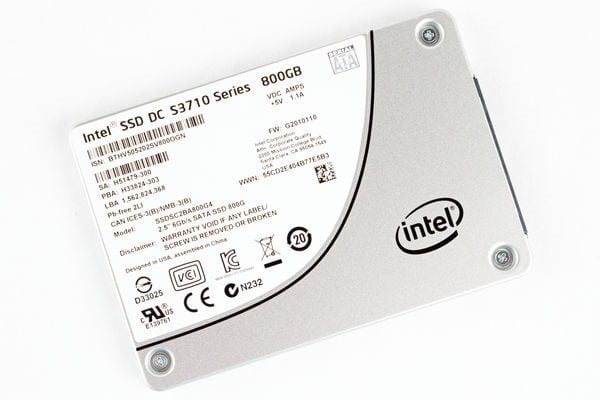 Ổ cứng SSD Enterprise Intel DC S3700 800GB