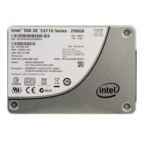 Ổ cứng SSD Enterprise Intel DC S3710 200GB